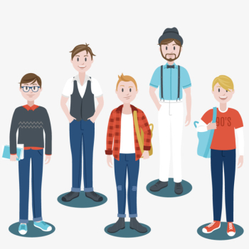 Different Dress Up Boys, Dress Vector, City, Clothing PNG and ... png image transparent background