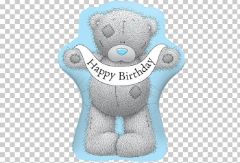 Balloon Me To You Bears Birthday Gift Teddy Bear PNG, Clipart ... png image transparent background