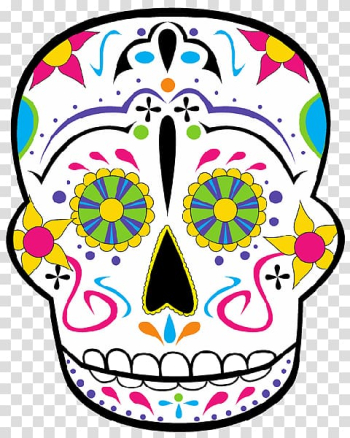 Calavera Day of the Dead , Halloween transparent background PNG clipart png image transparent background
