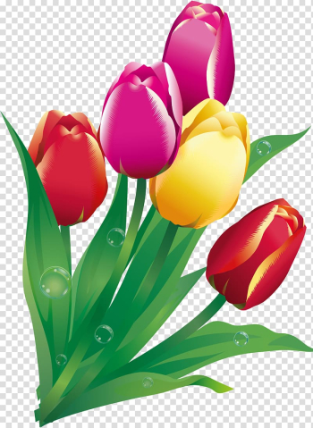 Easter Bunny Flower Christmas , tulip transparent background PNG clipart png image transparent background