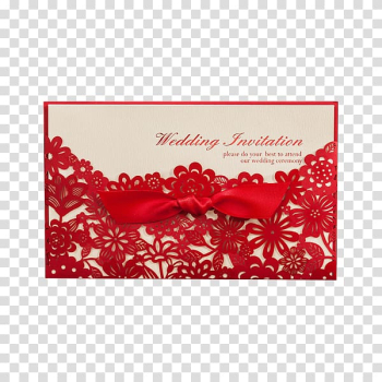 Wedding invitation Double Happiness Chinese marriage Gift, Wedding Wedding Invitations transparent background PNG clipart png image transparent background