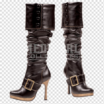 Knee-high boot Halloween costume Clothing, boot transparent background PNG clipart png image transparent background