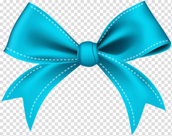 Ribbon Blue Bow tie , blue ribbon transparent background PNG clipart png image transparent background