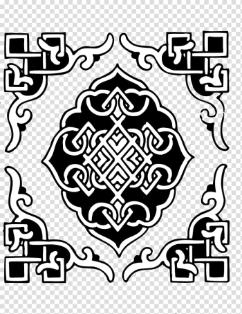 Mongolia Window , Classic black and white pattern decorative windows transparent background PNG clipart png image transparent background