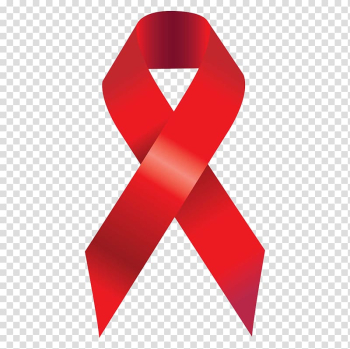 Domestic violence Red ribbon Purple ribbon AIDS, Red ribbon transparent background PNG clipart png image transparent background