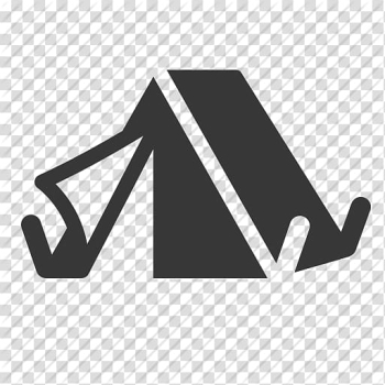 Black line art, Tent Computer Icons Camping, Tent Icon transparent background PNG clipart png image transparent background