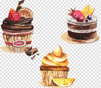 Ice cream Cupcake Bakery, Drawing fruit cake transparent background PNG clipart png image transparent background