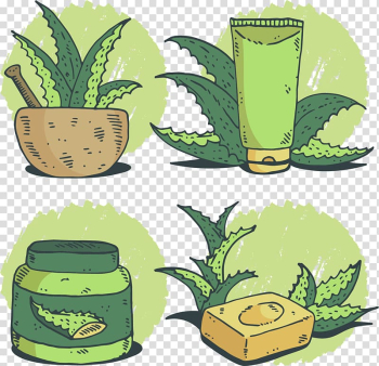 Drawing Soap Watercolor painting, hand-painted aloe vera gel transparent background PNG clipart png image transparent background