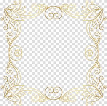 Borders and Frames Gold , gold border transparent background PNG clipart png image transparent background