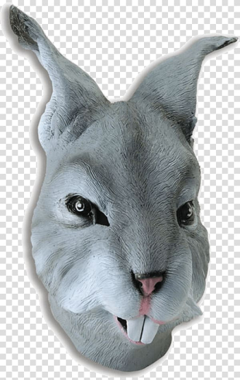 Easter Bunny Mask Rabbit Costume party, elephant rabbit transparent background PNG clipart png image transparent background