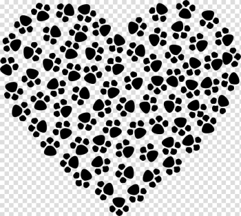 Dog Cat Paw T-shirt Heart, posters transparent background PNG clipart png image transparent background