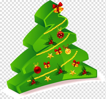 Santa Claus Christmas card Christmas tree , Christmas tree transparent background PNG clipart png image transparent background