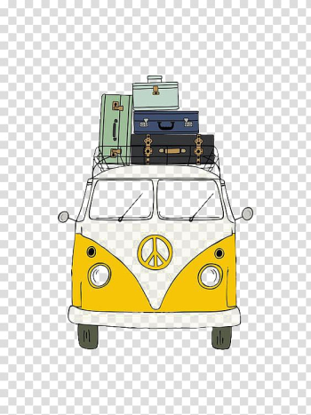 Paper Printmaking Watercolor painting Drawing, Cartoon Bus transparent background PNG clipart png image transparent background