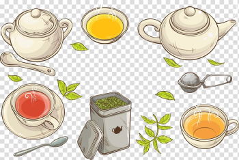 Green tea Teacup Tea strainer, white tea cup and transparent background PNG clipart png image transparent background