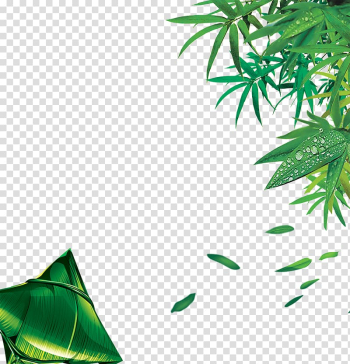 Bamboo , Bamboo leaves dumplings dumplings green decorative color network transparent background PNG clipart png image transparent background