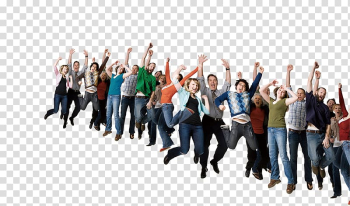 Group of people raising hands, Service , Real creative crowd cheered free transparent background PNG clipart png image transparent background