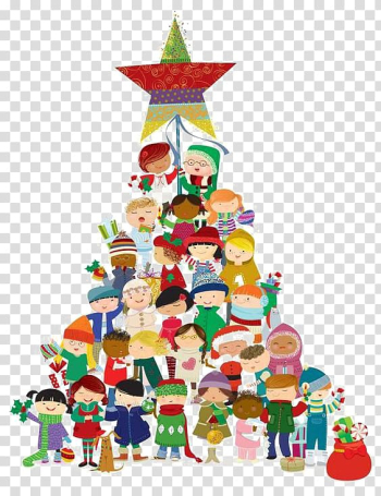 Childrens Christmas Choir Childrens Christmas Choir Christmas carol childrens choir, Cartoon children collection transparent background PNG clipart png image transparent background
