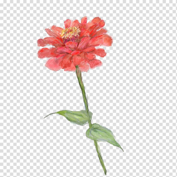 Red Watercolor painting Motif Illustration, Red Bouquet transparent background PNG clipart png image transparent background
