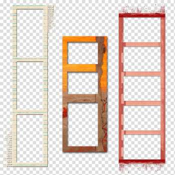 Three assorted-color frames illustration, Frames Window Polaroid Corporation, polaroid transparent background PNG clipart png image transparent background