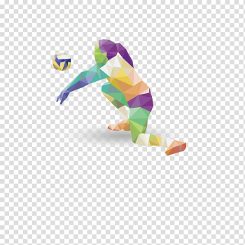 Volleyball Sports league, Volleyball with color matching transparent background PNG clipart png image transparent background