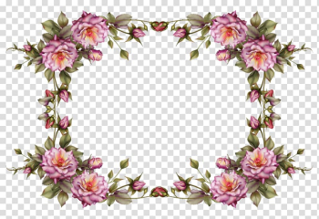 Borders and Frames Frames Flower , watercolor flower border transparent background PNG clipart png image transparent background