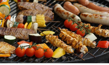 Barbecue grill Shish kebab Barbecue chicken Grilling Cooking, BBQ transparent background PNG clipart png image transparent background