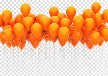 Toy balloon Airplane , Orange balloon floating in the air transparent background PNG clipart png image transparent background