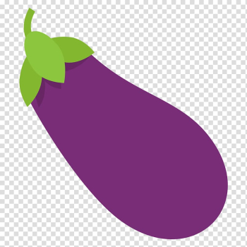 Emoji Blocks Eggplant Vegetable Food, eggplant transparent background PNG clipart png image transparent background