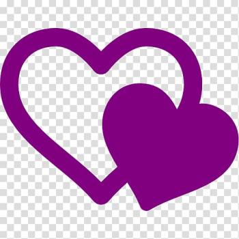 Computer Icons , purple heart transparent background PNG clipart png image transparent background
