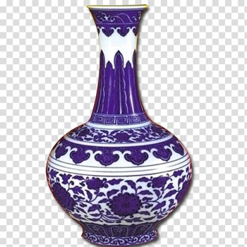 Jingdezhen Qing dynasty Vase Blue and white pottery Porcelain, Exquisite vase,Blue and white transparent background PNG clipart png image transparent background