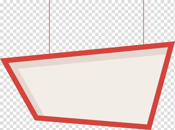 White and brown illustration, Light Red Pattern, Red billboard transparent background PNG clipart png image transparent background