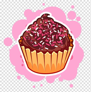 Cupcake , Christmas Cupcakes Molten chocolate cake Muffin, Chocolate Ice Cream transparent background PNG clipart png image transparent background