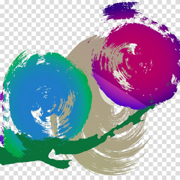 Abstraction Google s, Hand painted color abstract sphere transparent background PNG clipart png image transparent background