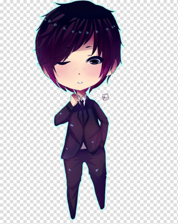 Chibi Anime Drawing Kavaii, anime boy transparent background PNG clipart png image transparent background