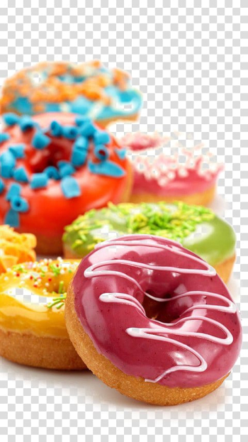Doughnut , Doughnut High-definition television High-definition video 1080p , Colored donut transparent background PNG clipart png image transparent background
