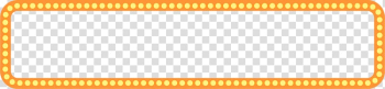 Orange and yellow frame , Nanjing Purple Congee Brand Enhydris, Orange neon ballet round border transparent background PNG clipart png image transparent background