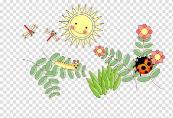 Butterfly Ladybird , Leaves on the insects transparent background PNG clipart png image transparent background