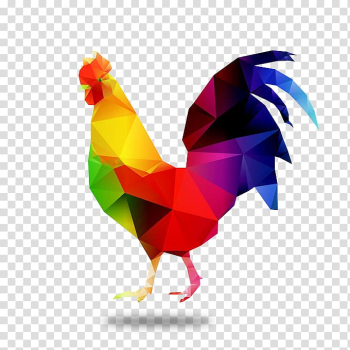 Chicken Rooster , Color film Chicken,icon,Festive cock transparent background PNG clipart png image transparent background