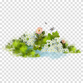 Animation, Floating flowers transparent background PNG clipart png image transparent background