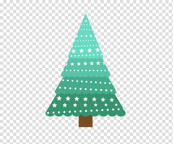 Christmas tree , Creative green Christmas tree transparent background PNG clipart png image transparent background