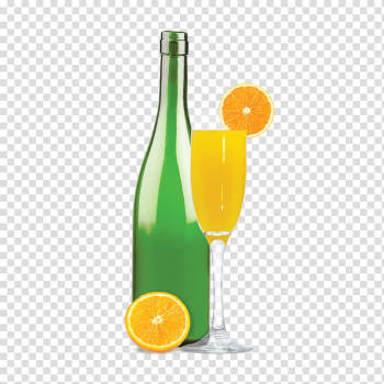 Mimosa Cocktail Mojito Champagne Sparkling wine, brunch transparent background PNG clipart png image transparent background