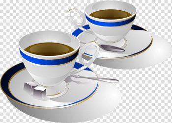 Coffee cup Espresso Cafe, White glass transparent background PNG clipart png image transparent background