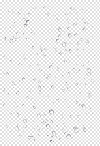 Water dew digital illustration, Black and white Line Point Angle, Floating water droplets transparent background PNG clipart png image transparent background