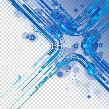 Blue and white , Printed circuit board Technology, Science and Technology Line transparent background PNG clipart png image transparent background