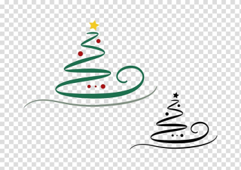 Christmas tree , Hand-painted Christmas tree transparent background PNG clipart png image transparent background
