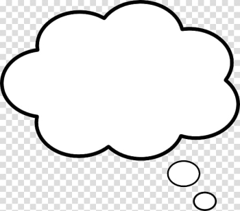 Cloud dialog box illustration, Speech balloon Thought , speech ballon transparent background PNG clipart png image transparent background