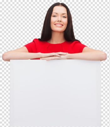 Advertising Christmas Woman, holding an eraser whiteboard transparent background PNG clipart png image transparent background