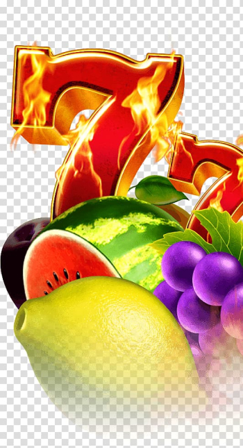 Two red 7 and fruits illustrations, Slot machine Gambling Game Online Casino, others transparent background PNG clipart png image transparent background