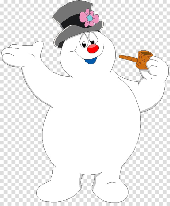 Frosty the Snowman Christmas Animation, snowman transparent background PNG clipart png image transparent background