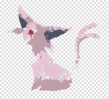 Espeon Pokémon Flareon Eevee Umbreon, Disney watercolor transparent background PNG clipart png image transparent background